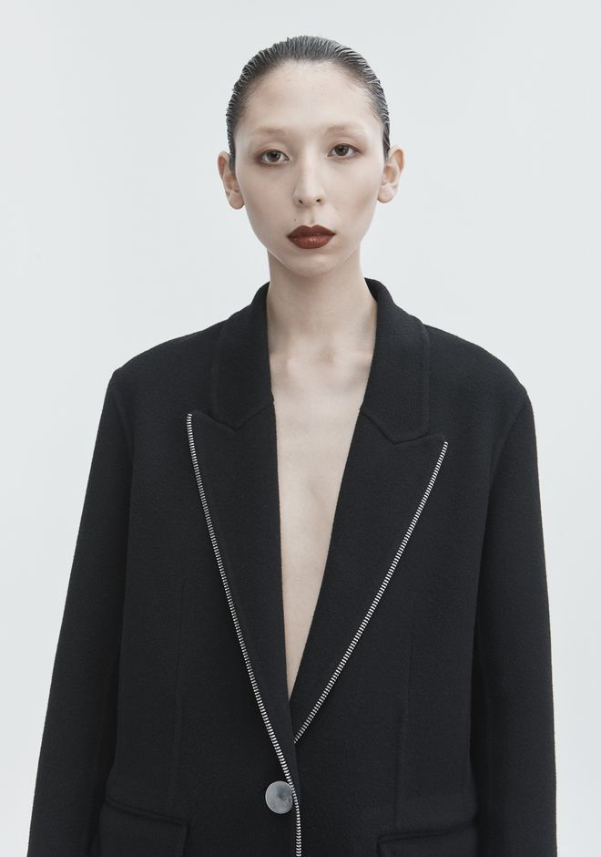 ALEXANDER WANG WOOL COAT JACKETS AND OUTERWEAR  Adult 12_n_r