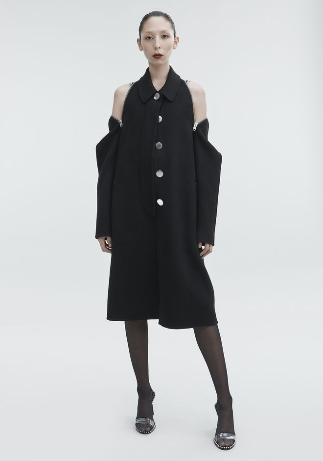 ALEXANDER WANG JACKETS AND OUTERWEAR  Women WOOL CAR COAT