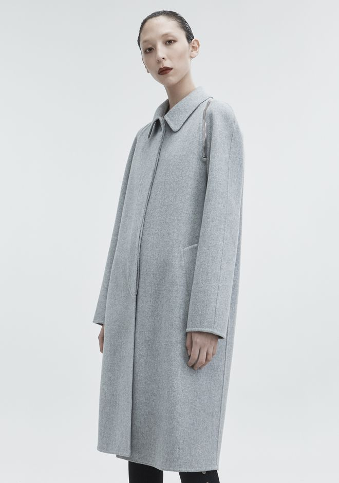 ALEXANDER WANG WOOL CAR COAT JACKETS AND OUTERWEAR  Adult 12_n_d