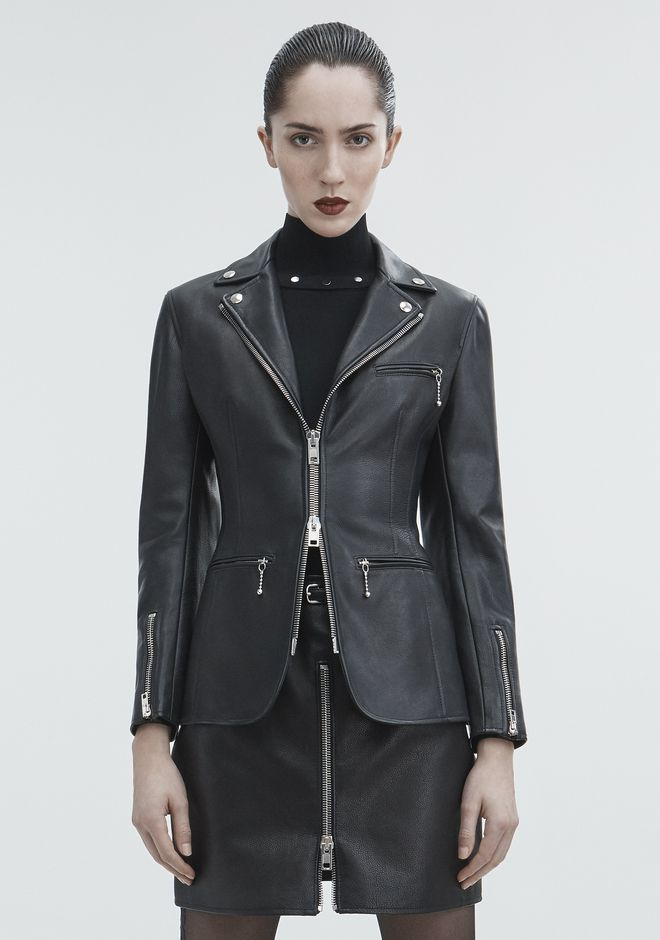 ALEXANDER WANG MOTO BLAZER JACKETS AND OUTERWEAR  Adult 12_n_a