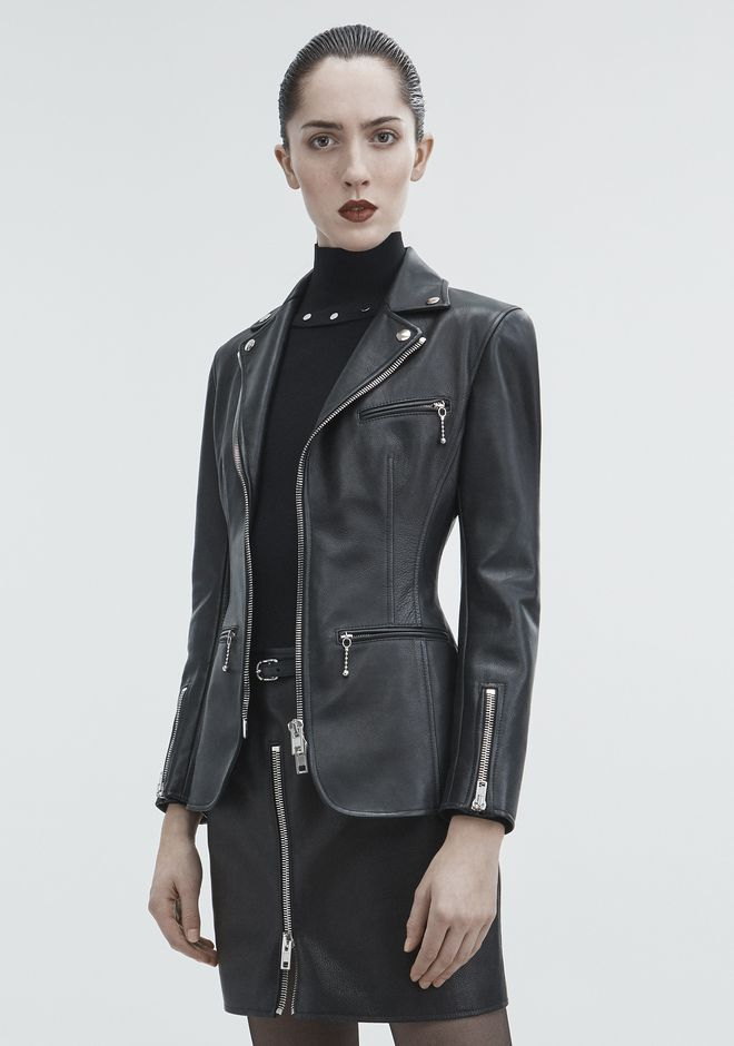 ALEXANDER WANG MOTO BLAZER JACKETS AND OUTERWEAR  Adult 12_n_d