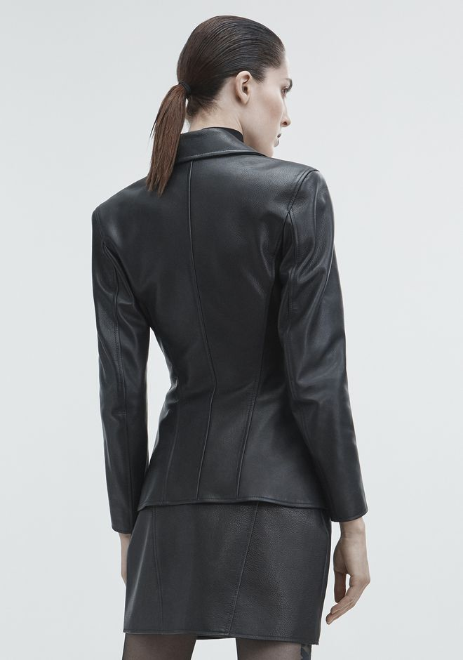 ALEXANDER WANG MOTO BLAZER JACKETS AND OUTERWEAR  Adult 12_n_e