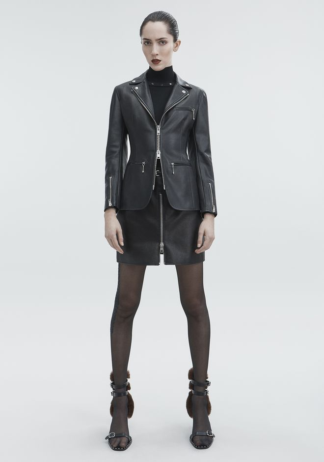 ALEXANDER WANG MOTO BLAZER JACKETS AND OUTERWEAR  Adult 12_n_f
