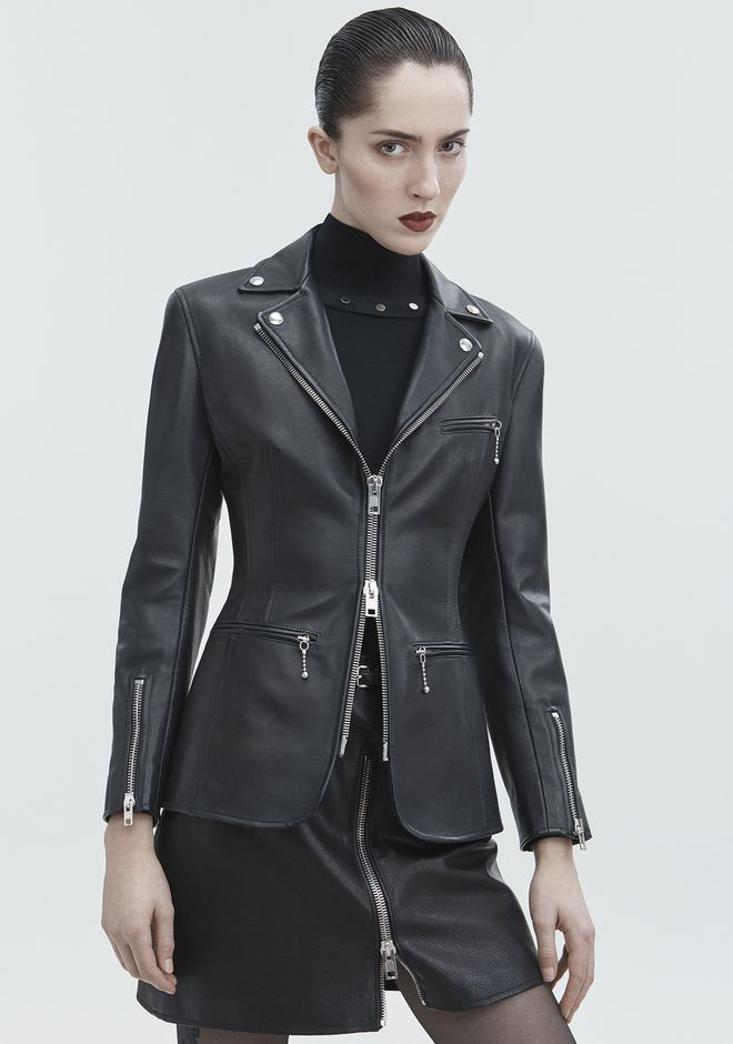 ALEXANDER WANG MOTO BLAZER JACKETS AND OUTERWEAR  Adult 12_n_r