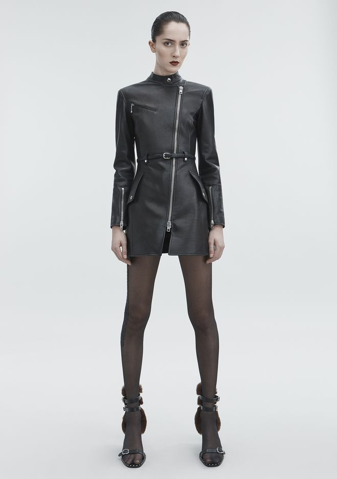 ALEXANDER WANG VESTES ET VÊTEMENTS OUTDOOR Femme MOTO TRENCH