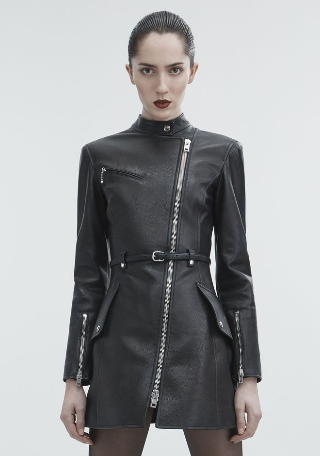 ALEXANDER WANG MOTO TRENCH JACKETS AND OUTERWEAR  Adult 12_n_a