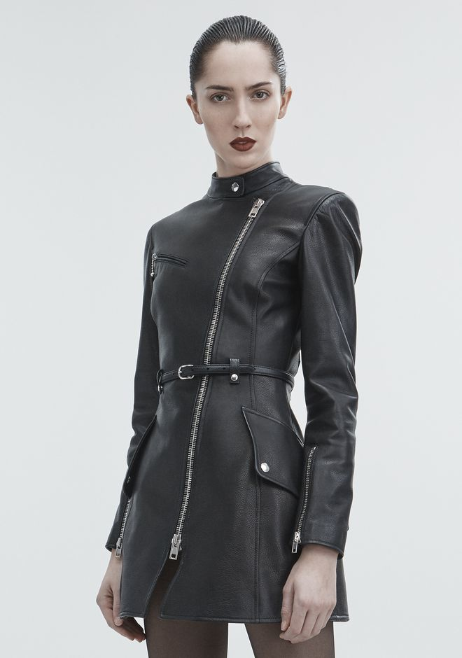 ALEXANDER WANG MOTO TRENCH JACKETS AND OUTERWEAR  Adult 12_n_d