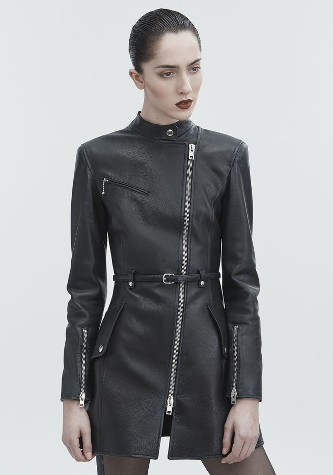 ALEXANDER WANG MOTO TRENCH JACKETS AND OUTERWEAR  Adult 12_n_r