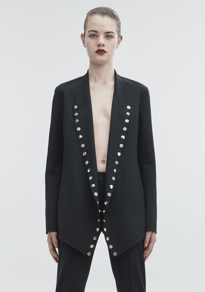 ALEXANDER WANG SNAP BLAZER JACKETS AND OUTERWEAR  Adult 12_n_a