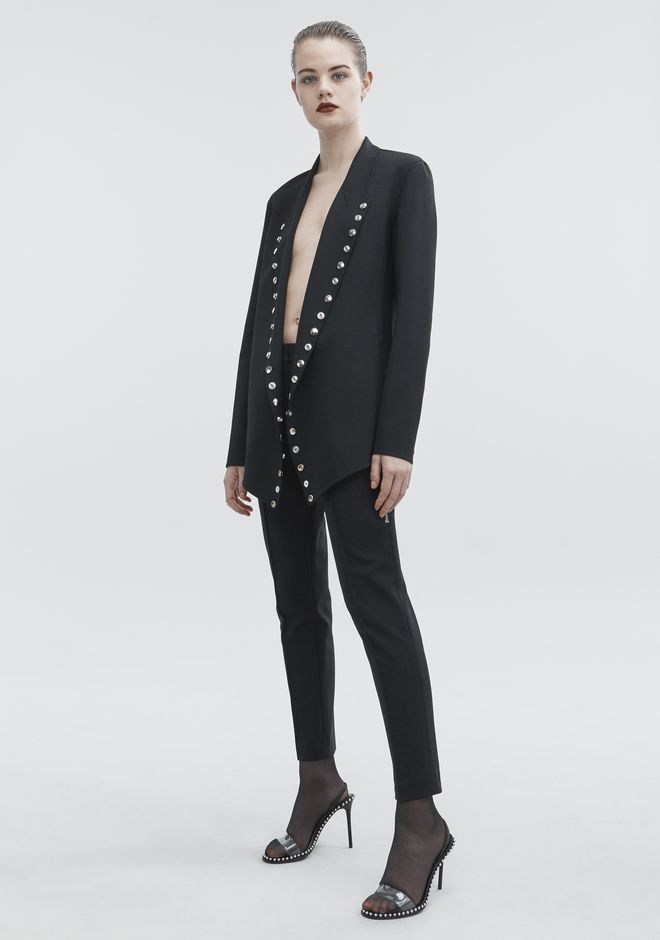 ALEXANDER WANG SNAP BLAZER JACKETS AND OUTERWEAR  Adult 12_n_f