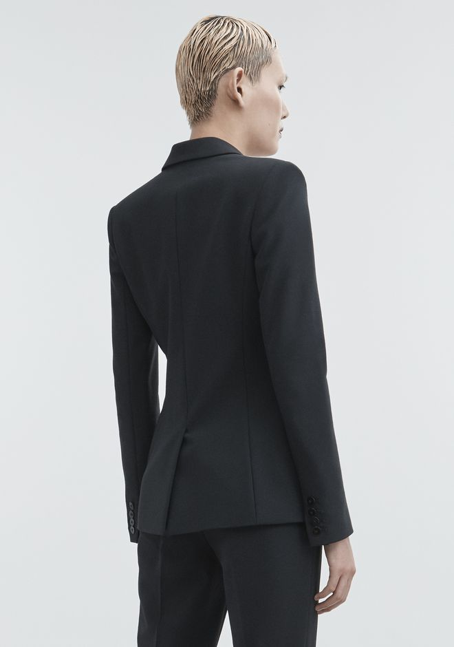 ALEXANDER WANG FITTED BLAZER  JACKETS AND OUTERWEAR  Adult 12_n_e