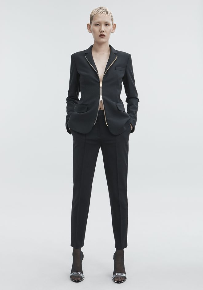 ALEXANDER WANG FITTED BLAZER  JACKETS AND OUTERWEAR  Adult 12_n_f