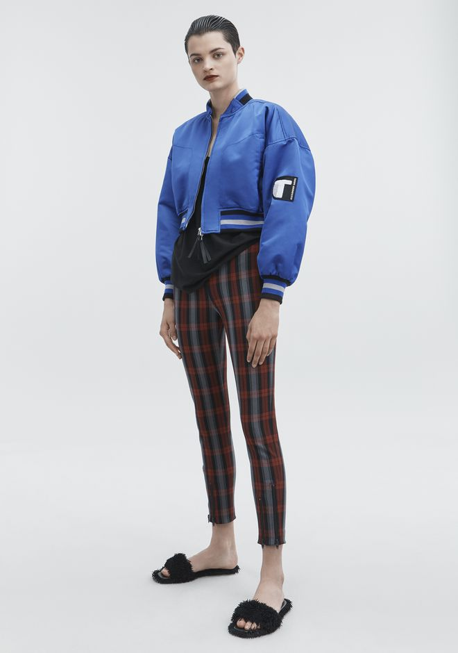 T by ALEXANDER WANG CROPPED BOMBER JACKETS AND OUTERWEAR  Adult 12_n_f