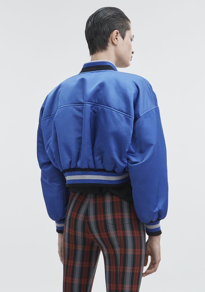 T by ALEXANDER WANG CROPPED BOMBER JACKETS AND OUTERWEAR  Adult 12_n_r