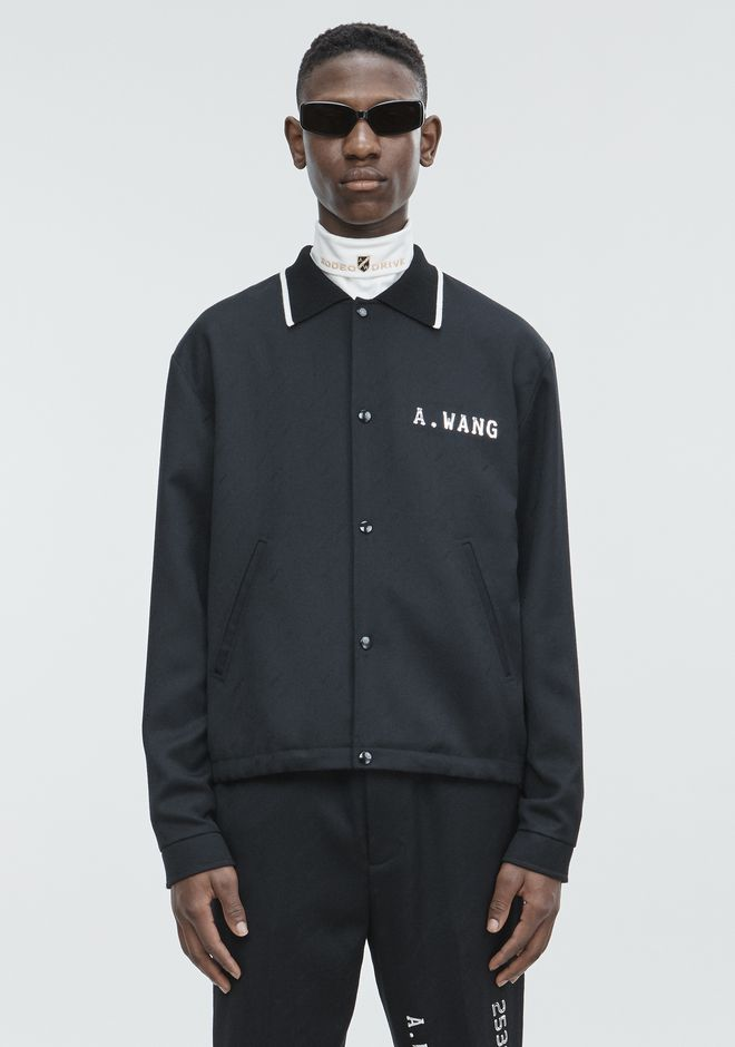 ALEXANDER WANG CREDIT CARD ZIP UP JACKET  JACKETS AND OUTERWEAR  Adult 12_n_d