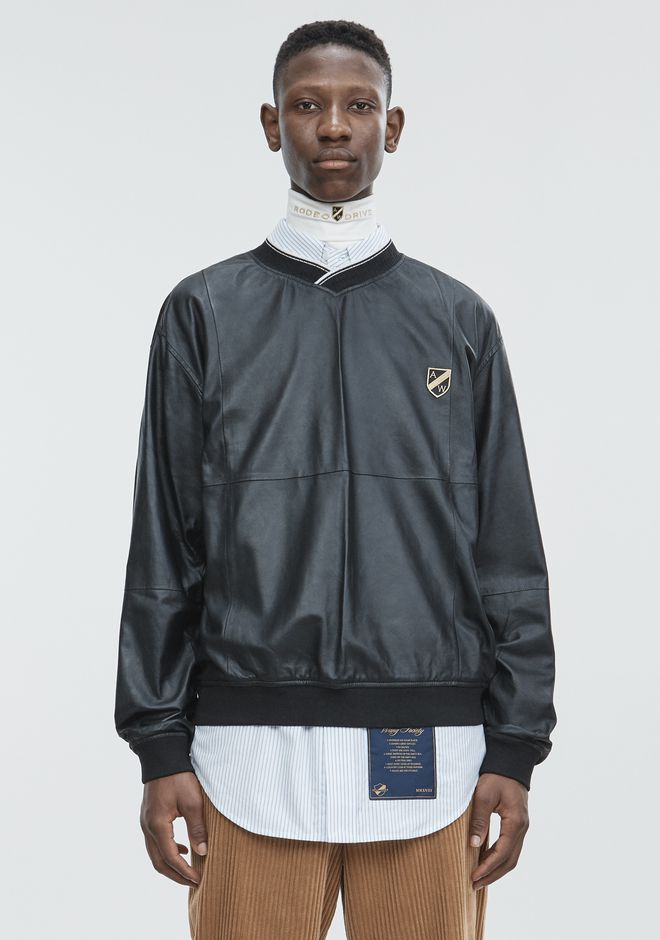 ALEXANDER WANG TOPS CREST PATCH PULLOVER