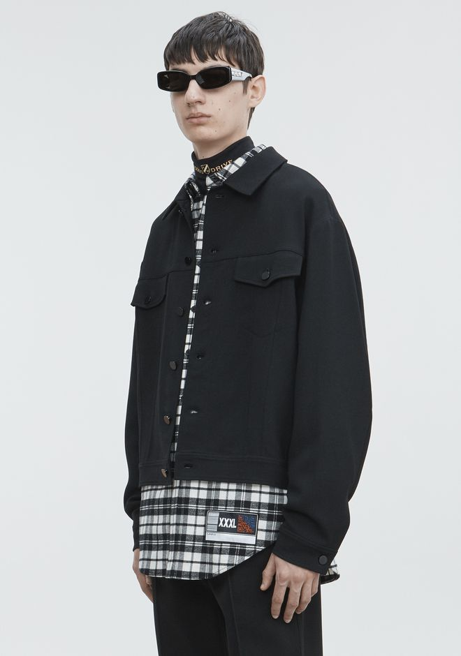 ALEXANDER WANG SPLITTABLE JACKET JACKETS AND OUTERWEAR  Adult 12_n_a