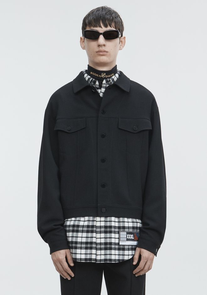 ALEXANDER WANG SPLITTABLE JACKET JACKETS AND OUTERWEAR  Adult 12_n_d