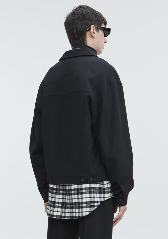 ALEXANDER WANG SPLITTABLE JACKET JACKETS AND OUTERWEAR  Adult 12_n_e