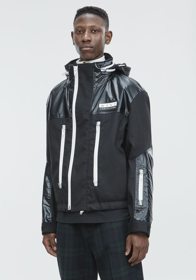 ALEXANDER WANG DOUBLEFACE JACKET JACKETS AND OUTERWEAR  Adult 12_n_a