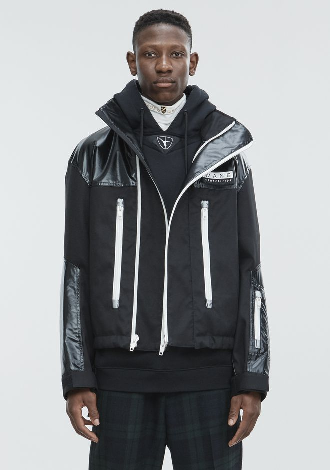 ALEXANDER WANG DOUBLEFACE JACKET JACKETS AND OUTERWEAR  Adult 12_n_d