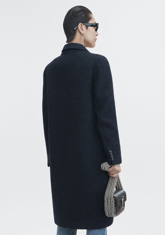T by ALEXANDER WANG WOOL CAR COAT JACKETS AND OUTERWEAR  Adult 12_n_e