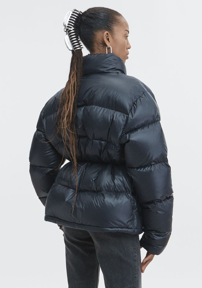 ALEXANDER WANG CREDIT CARD PUFFER COAT JACKETS AND OUTERWEAR  Adult 12_n_e