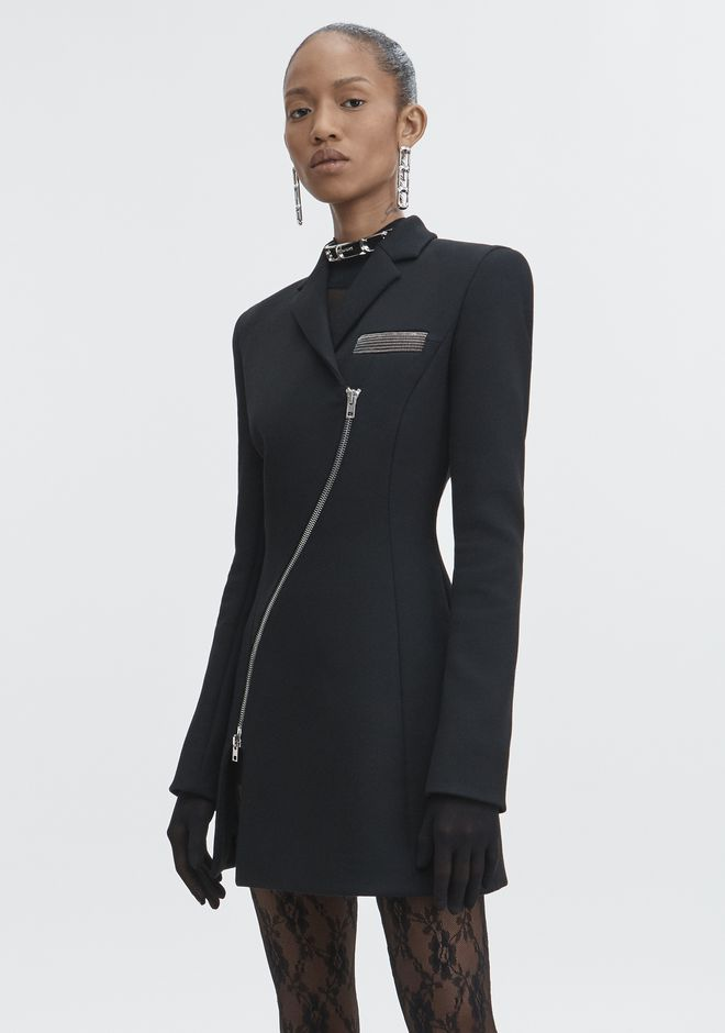 ALEXANDER WANG TAILORED OVERCOAT TRENCH Adult 12_n_d