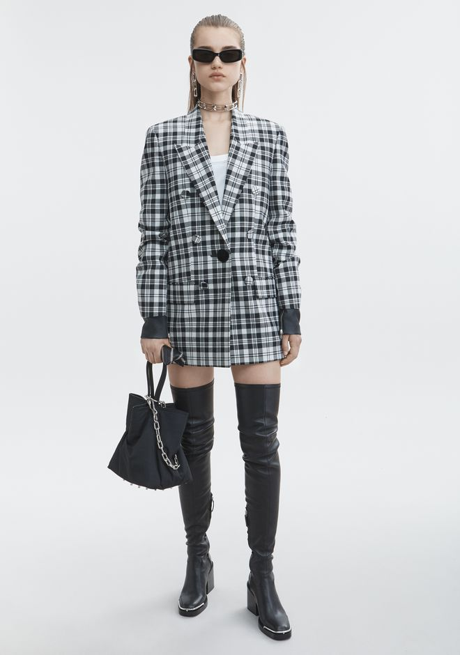 ALEXANDER WANG SINGLE BREASTED JACKET JACKETS AND OUTERWEAR  Adult 12_n_f