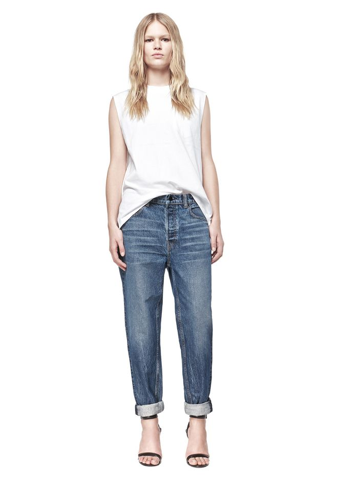 Discount Purchase Outlet Cheapest Price Wang 003 low-rise boyfriend jeans Alexander Wang Discount Very Cheap Amazing Price Sale Online 8KsZ4j