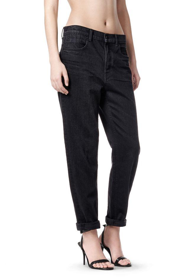 Wang 003 Garçon Fit Jeans - Wang Noir Alexander aCRRuSisms