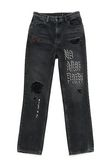 "ALEXANDER WANG CULT ""NO AFTER PARTY"" STRAIGHT LEG JEANS DENIM Adult 8_n_a"