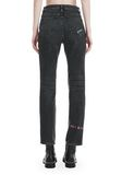 "ALEXANDER WANG CULT ""NO AFTER PARTY"" STRAIGHT LEG JEANS DENIM Adult 8_n_d"