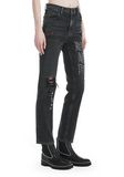 "ALEXANDER WANG CULT ""NO AFTER PARTY"" STRAIGHT LEG JEANS DENIM Adult 8_n_e"