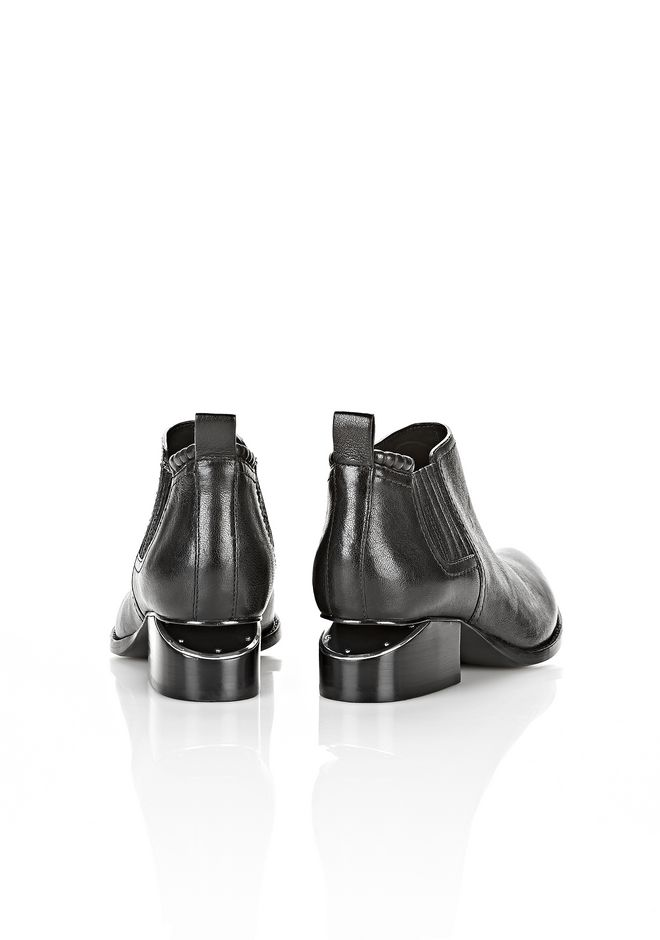 ALEXANDER WANG Kori with Nickel BOOTS Adult 12_n_e