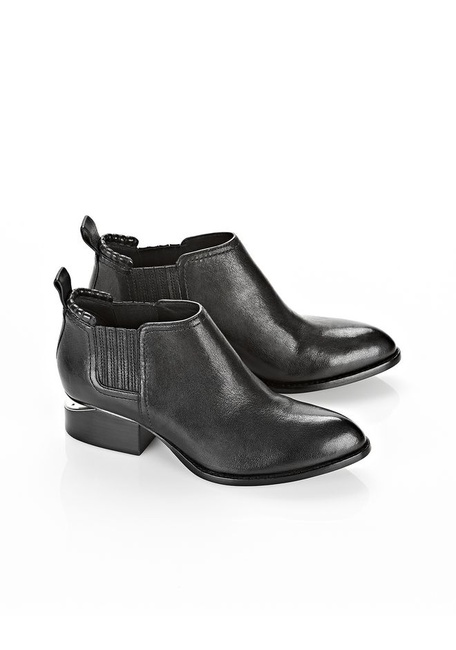 ALEXANDER WANG Kori with Nickel BOOTS Adult 12_n_r