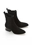 ALEXANDER WANG ANOUCK SUEDE BOOT WITH NICKEL  BOOTS Adult 8_n_r