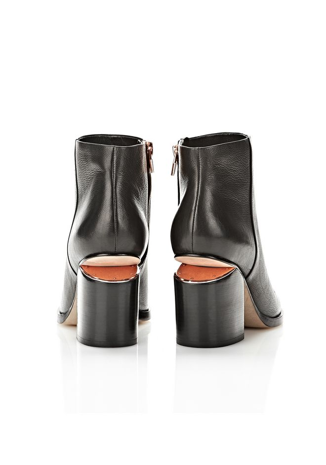 ALEXANDER WANG GABI BOOTIE WITH ROSE GOLD BOOTS Adult 12_n_e