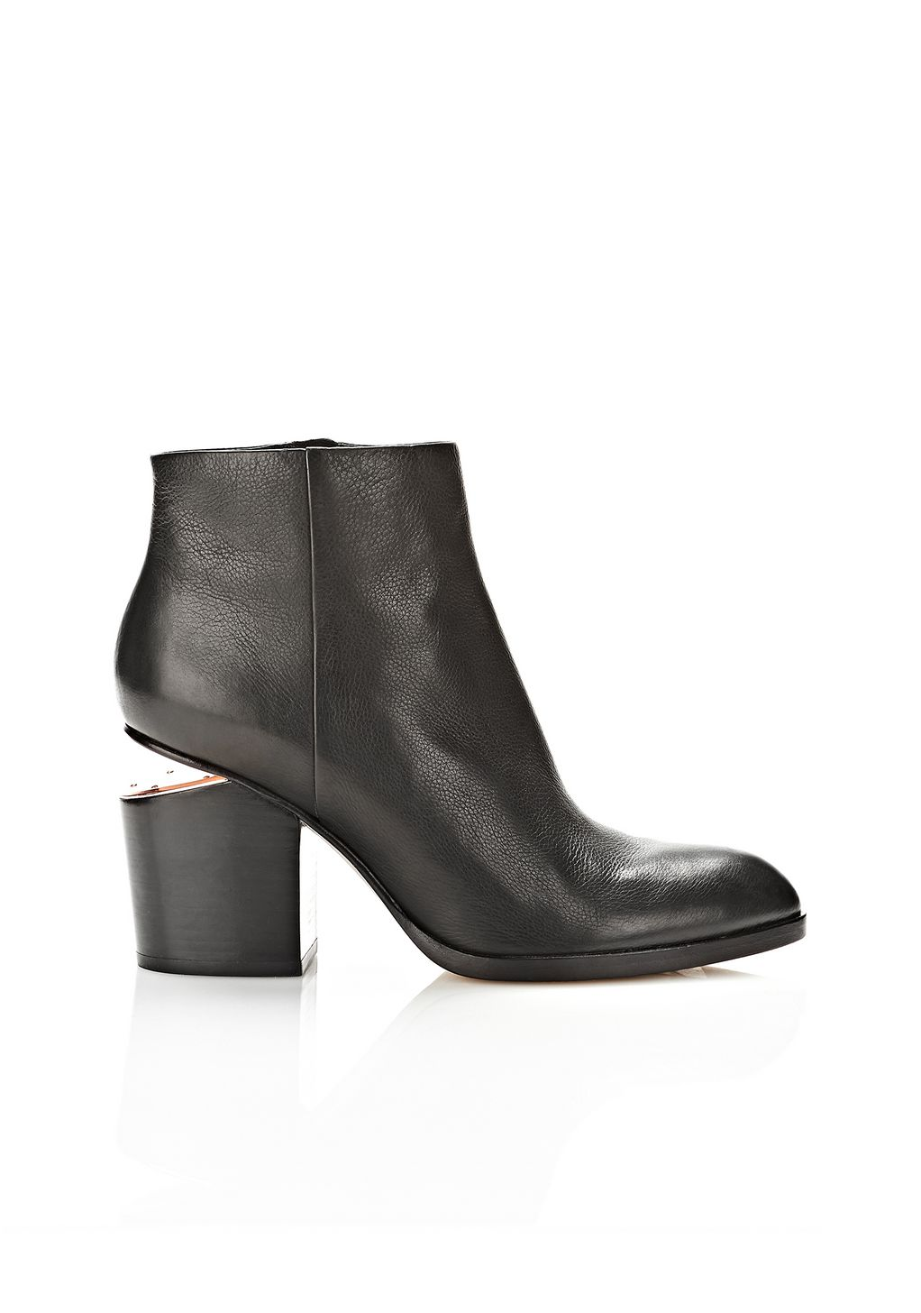 Alexander Wang Gabi Bootie With Rose Gold  Boots -1427