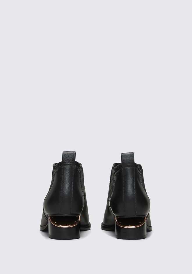 ALEXANDER WANG KORI OXFORD WITH ROSE GOLD  BOOTS Adult 12_n_d