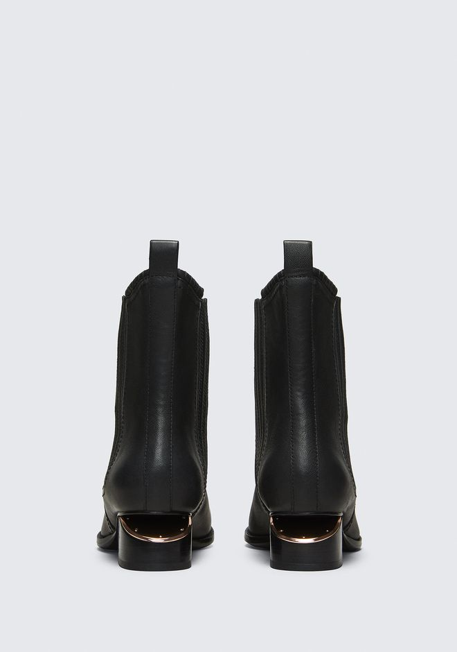 ALEXANDER WANG ANOUCK BOOT WITH ROSE GOLD BOOTS Adult 12_n_d