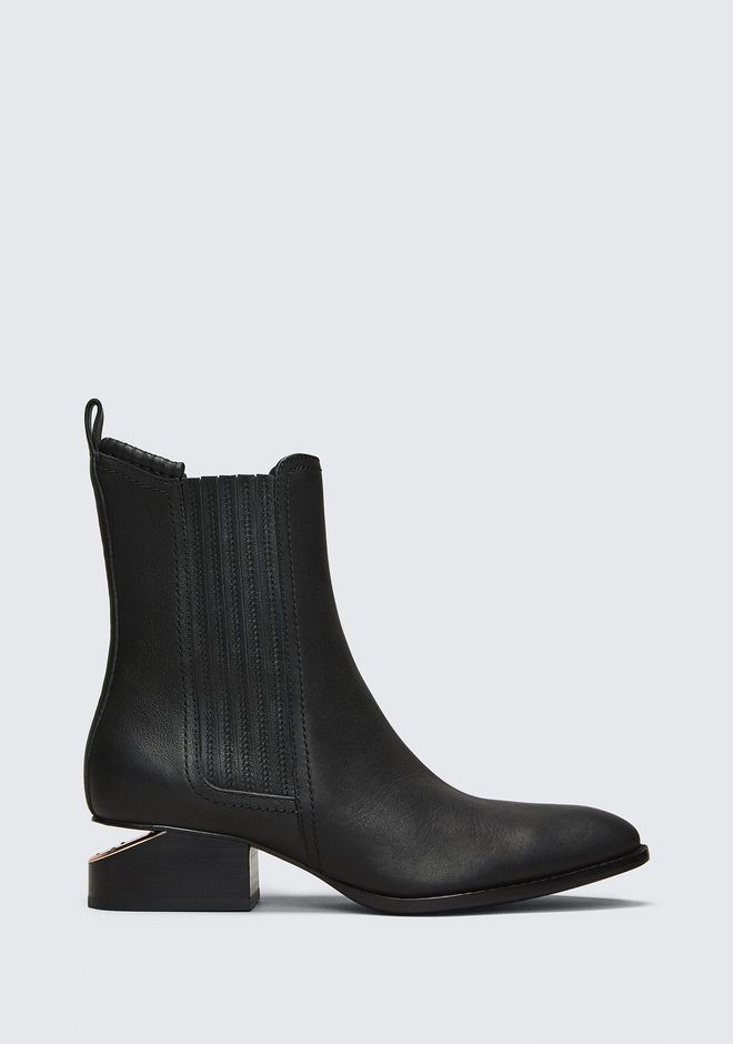 ALEXANDER WANG ANOUCK BOOT WITH ROSE GOLD BOOTS Adult 12_n_f
