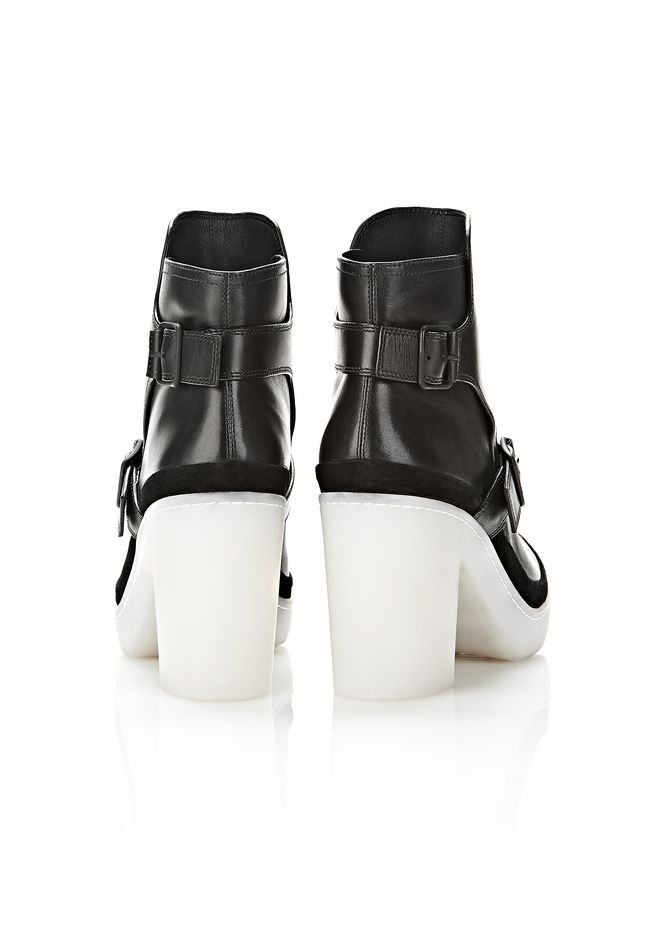 ALEXANDER WANG SEYMONE ANKLE BOOTIE BOOTS Adult 12_n_e