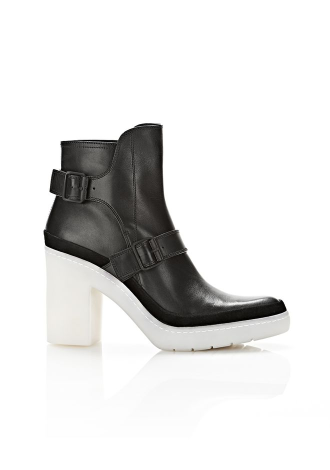 ALEXANDER WANG SEYMONE ANKLE BOOTIE BOOTS Adult 12_n_f