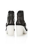 ALEXANDER WANG SEYMONE ANKLE BOOTIE BOOTS Adult 8_n_e