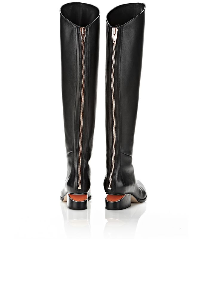 ALEXANDER WANG SIGRID BOOT WITH ROSE GOLD BOOTS Adult 12_n_e
