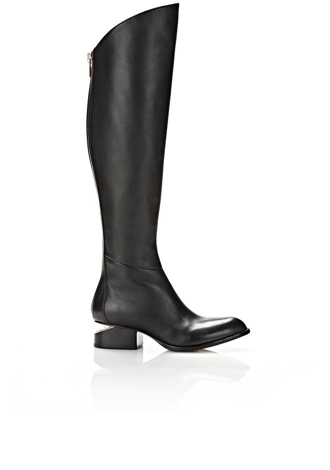 Alexander Wang Leather Knee-High Boots free shipping Cheapest CCW4bD