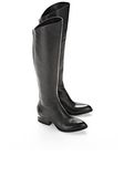 ALEXANDER WANG SIGRID BOOT WITH ROSE GOLD BOOTS Adult 8_n_r