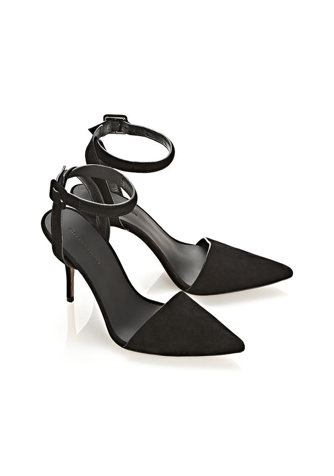 Alexander Wang Lovisa Suede Pumps free shipping latest collections tdCs4KPl