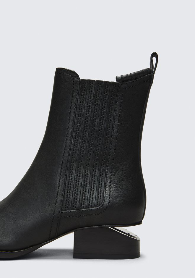 ALEXANDER WANG ANOUCK BOOT WITH RHODIUM BOOTS Adult 12_n_r